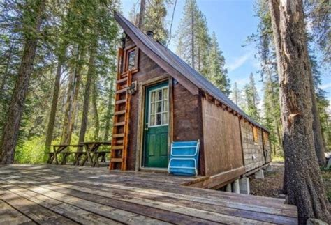 Log Cabins For Sale In Northern California by Riverfront Tiny Cabin In California Woods For Sale