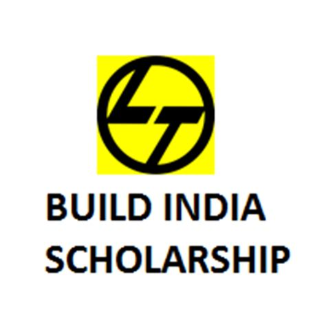 Scholarship Exams For Mba In India by L T Build India Scholarship 2017 M Tech At Iit
