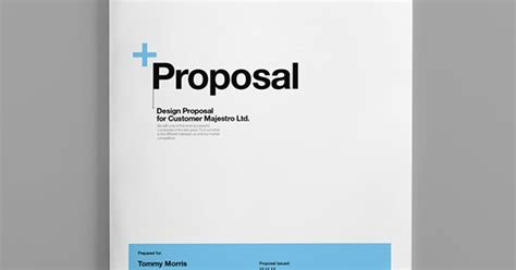 design proposal pinterest proposal template suisse design with invoice on behance