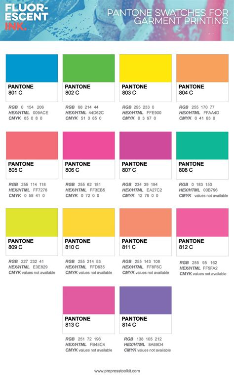 fluorescent colors fluorescent ink the definitive apparel designers guide