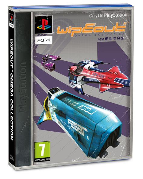 Kaset Ps4 Wipeout Omega Collection ps1 style box available for ps4 s wipeout collection in uk gamespot