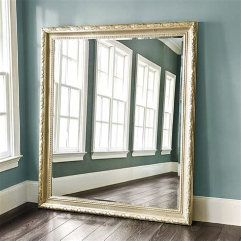 Ballard Design Rugs gautier leaner mirror traditional floor mirrors by