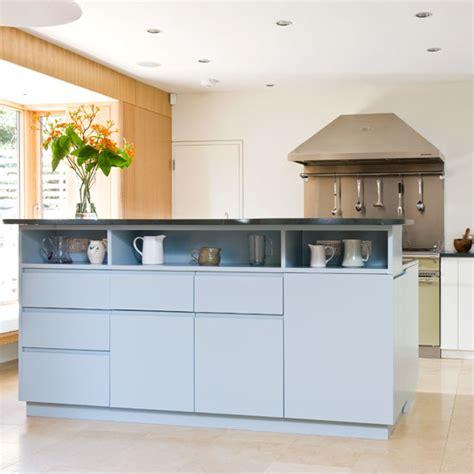 island unit take a tour around a sleek contemporary take a tour around a functional family kitchen ideal home