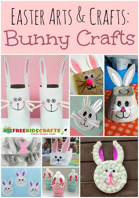 crafts for to do easter arts and crafts 29 bunny crafts