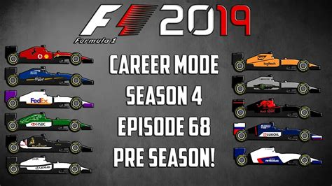 2019 F1 Drivers by 2019 Driver Lineups Revealed F1 2016 Career Mode Season 4