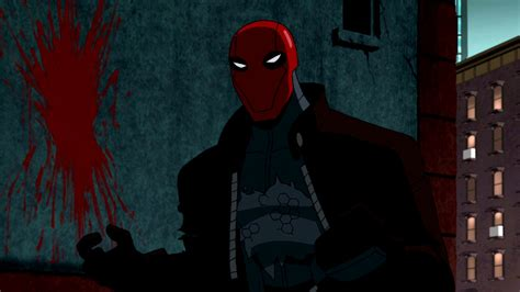 review batmans bloody red hood   tech noir blast wired