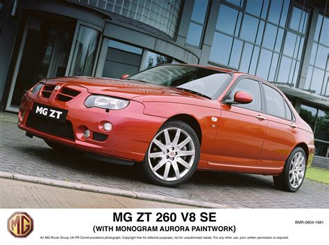 Mg V8 essay s advocate the mg zt 260 and rover 75 v8