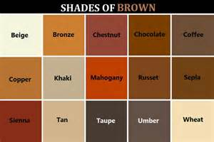 brown color chart shades of brown http goddessofsax post