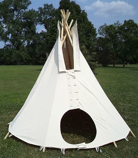 backyard teepee tent 15ft diameter tipi teepee or tepee 100 cotton duck