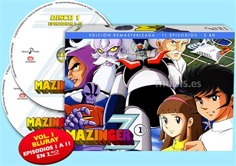 Nowela Set mazinger z serie tv