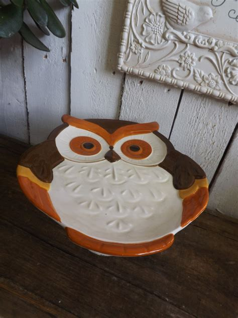 Owl Table L Owl Serving Platter Fall Table Decor For Thanksgiving