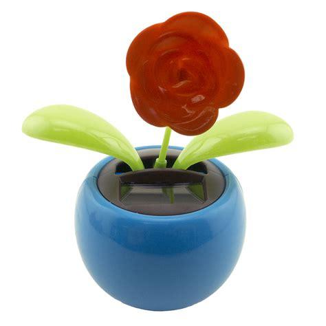 Bunga Goyang Motif Energy Solar Moving Plant Pot Murah solar toys car interior design