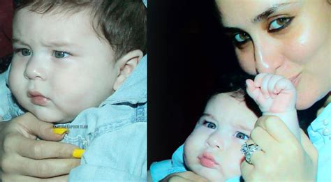 karina kapoor with son pic unseen and cute pics of kareena kapoor s son taimur ali khan
