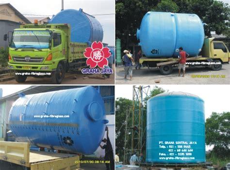 Bio Ukuran Besar tangki air fiberglass water tank graha fiberglass