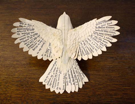 Handmade Paper Birds - handmade wood paper birds by zack mclaughlin http www