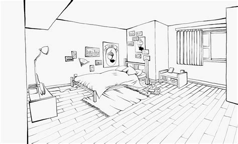 bedroom for coloring bedroom 25 buildings and architecture printable