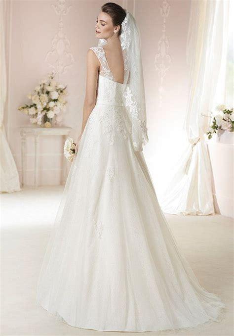 Wedding Attire En Francais by Robe De Mariage A Line Wedding Dress With Square
