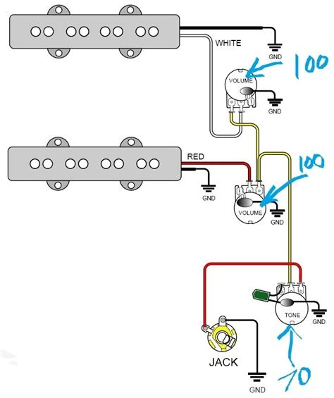 gfs humbucker wiring diagram single coil wiring