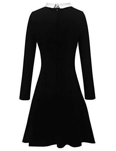 Bj 0958 White Collar Slim Dress aphratti s sleeve casual pan collar fit
