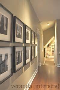 Wainscoting Examples - decorating a long hallway