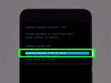 recovery mode android how to enter recovery mode on android smartphones 6 steps