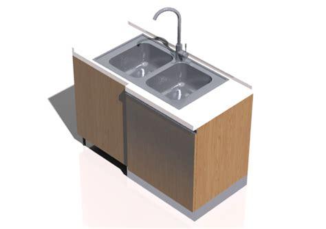 cucine con lavello angolare cucine 3d blocco con lavello angolare 64x124cm acca
