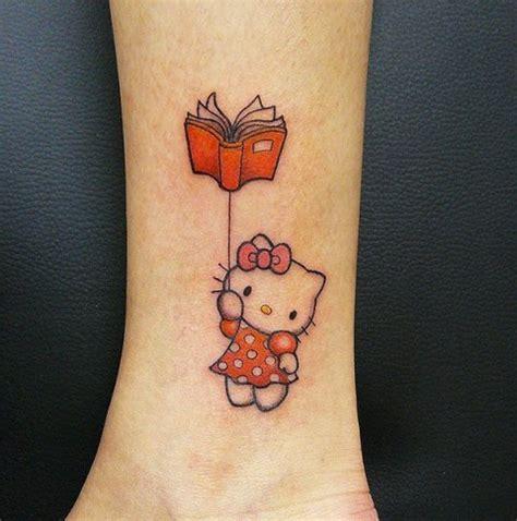 hello kitty wrist tattoos 21 small book ideas for styleoholic