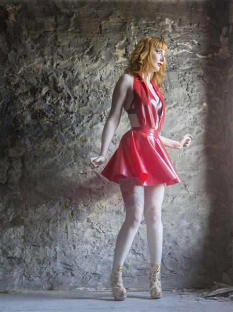 latex swing dress latex swing dress pretty deviant clothing