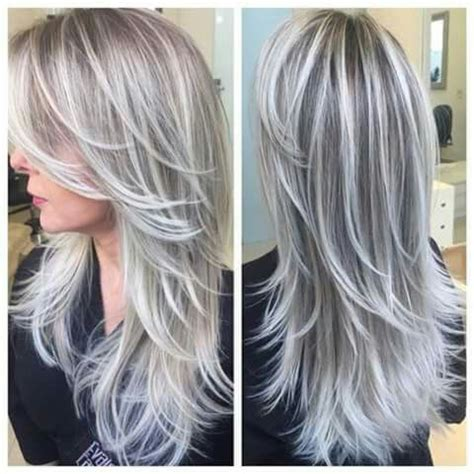 putting lowlights in gray hair 25 best ideas about gray highlights on pinterest gray