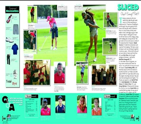 yearbook golf layout 25 best ideas about yearbook sports spreads on pinterest