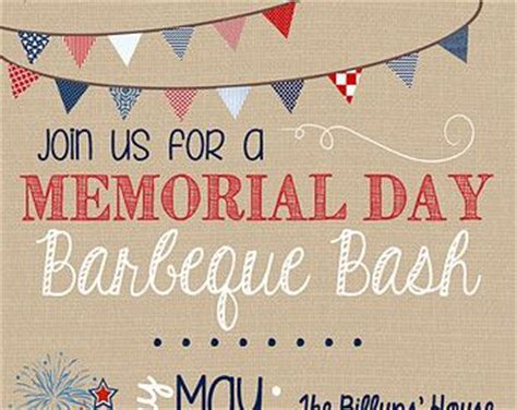 customizable memorial day july 4th bbq picnic invitation on etsy