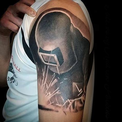80 welding tattoos for men industrial ink design ideas