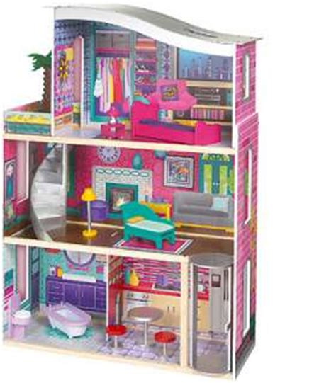 imaginarium modern luxury doll house imaginarium modern luxury wooden dollhouse toys r us
