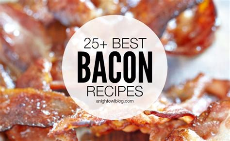 Of The Best Bacon Blogs by 25 Best Bacon Recipes A Owl