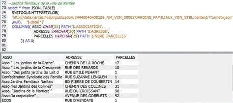 Json Table by Volubis Conseil Et Formation Sur Ibm I Power I5 Os