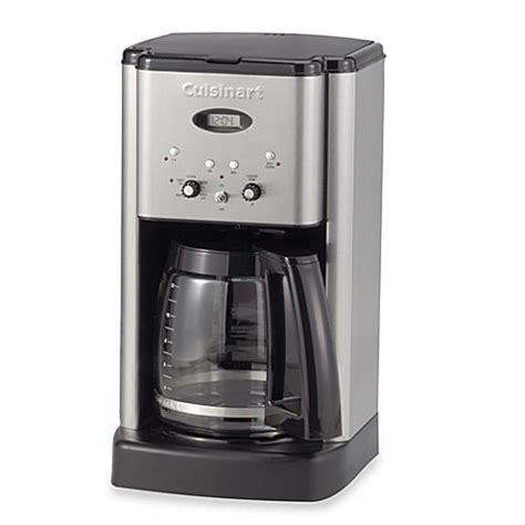 cuisinart coffee maker bed bath beyond cuisinart 174 brew central 12 cup programmable coffee maker