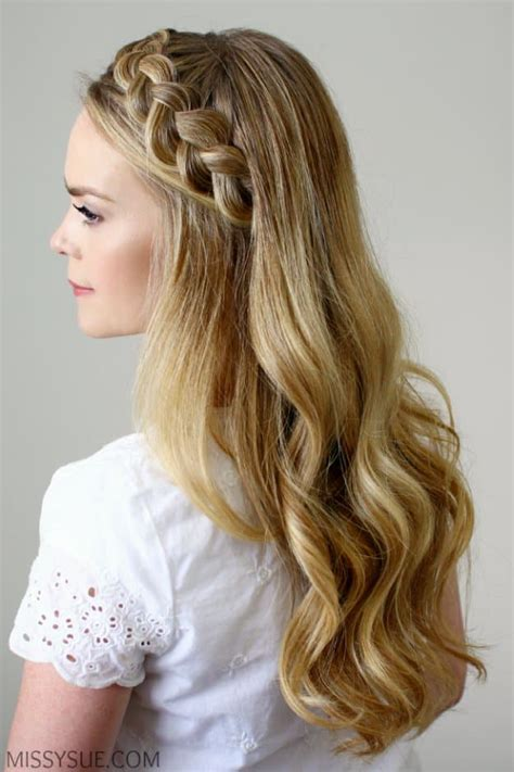 easy hair styles for dances homecoming dance hairstyles inspiration perfect for the queen