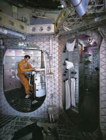Celebrity Interior Homes 1973 skylab interior mock up explore x ray delta