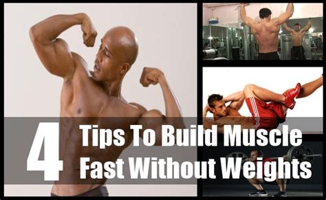 4 various ways to build fast without weights
