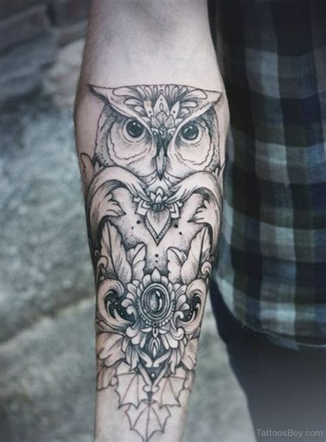 black owl tattoo bird tattoos designs pictures page 31