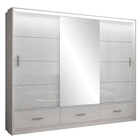 kleiderschrank mit spiegel und schubladen garderobenschr 228 nke mit spiegel und weitere