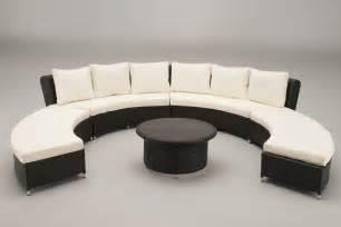 rattan curved sofa circular sofa set oakita