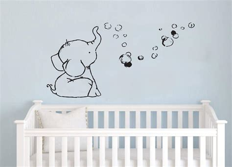 nursery wall decals for wall decal elephant wall decals for nursery