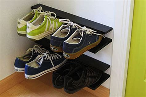 5 creative diy shoe storage solutions do it yourself 33 clever ways to store your shoes