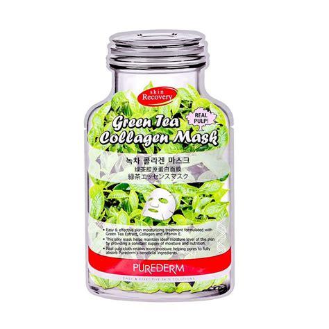 Collagen Vitamin E collagen mask with vitamin e and green tea extract