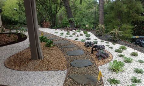 backyard gravel landscaping pea gravel landscaping design ideas landscaping gardening ideas