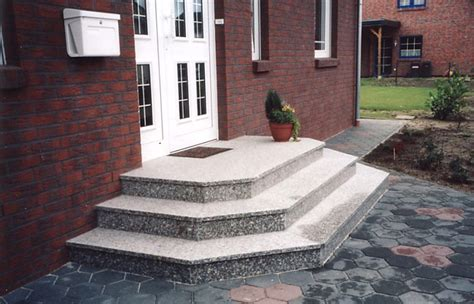 Steinstufen Polieren by Rosa Limbara Aus Dem Granit Sortiment Von Wieland Naturstein