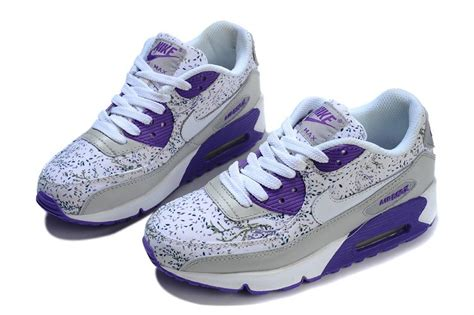 Nike Airmax 9 0 Flower s nike air max 90 flowers violet wolf grey white