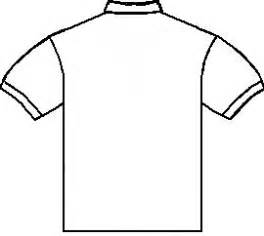 Tshirt Outline Back by T Shirt Outline Back Clipart Best