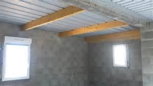 plafond sous bac acier neuf isolation habitat normes